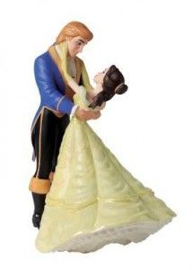 Wedding In Los Angeles: Beauty And The Beast Wedding Cake Topper | The Wedding Specialists
