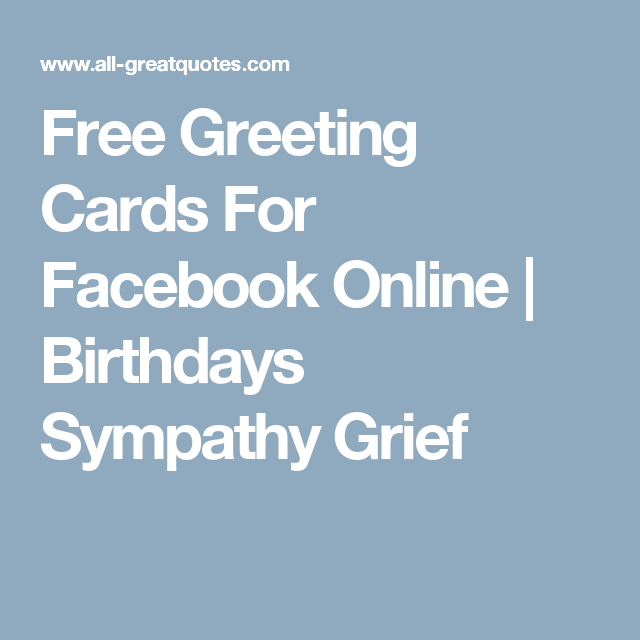 Free Greeting Cards For Facebook Online