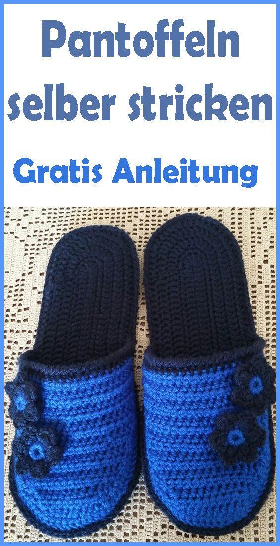 Photo of Pantoffeln stricken – kostenlose & einfache Anleitung