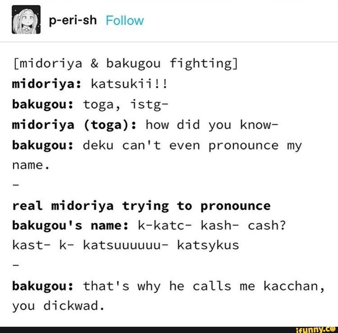 Midoriya Bakugou Fighting Midoriya Katsukiil Bakugou Toga