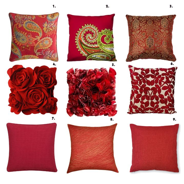 organizing decorative pillows