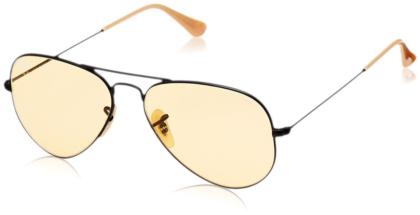 4c02844f3ad RayBan Mens Large Metal Aviator Sunglasses Matte Black 55 mm    Click image  for more details.-It is an affiliate link to Amazon.  RayBansunglasses