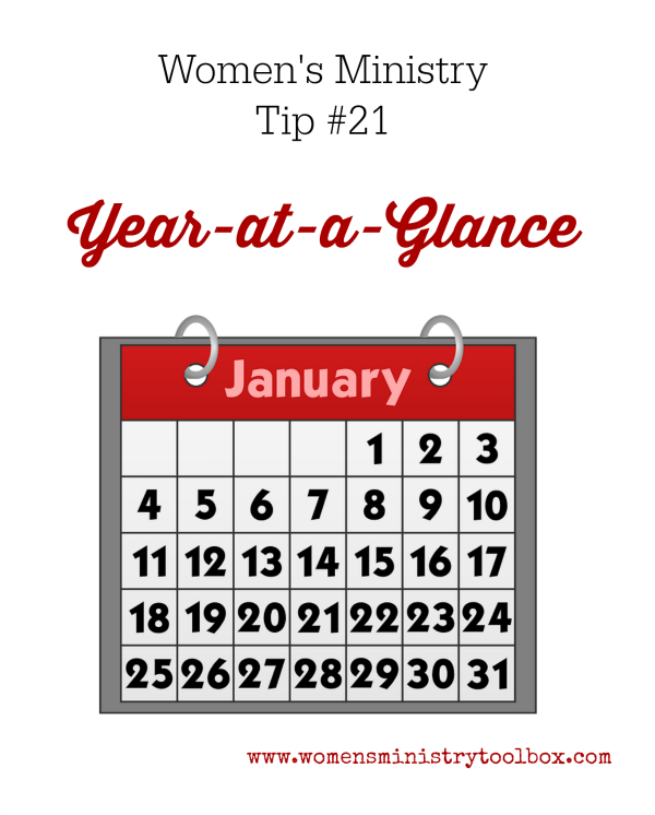 Tip 21- Year-at-a-Glance Form | Must-Follow Women's ...