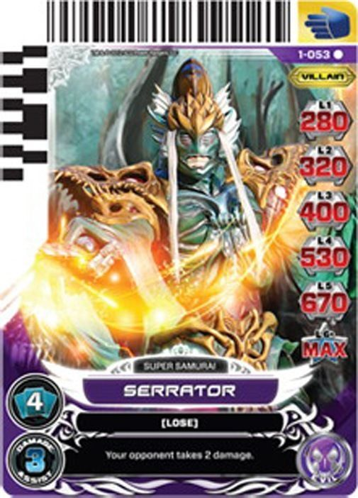 power rangers cards serrator - Bing images