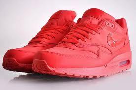 Nike Air Max 1 Red Attack Nike Air Max Air Max Sneakers Nike Air