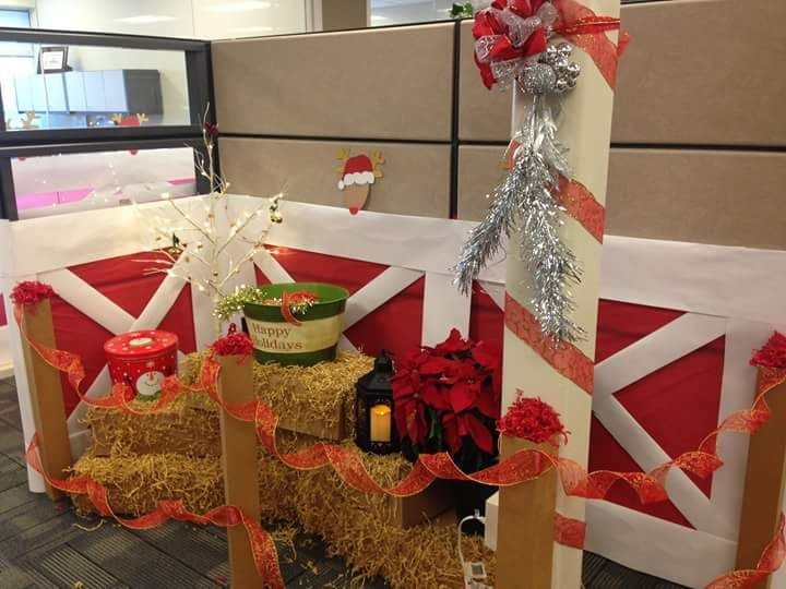 fun office decorations. 60+ Fun Office Christmas Decorations To Spread The Festive Cheer At Work Place