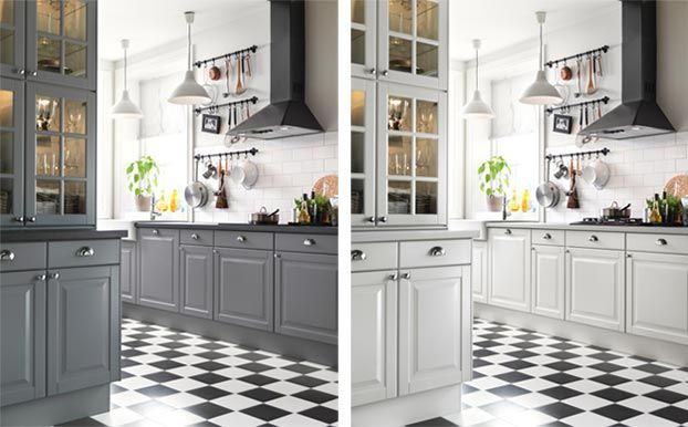 szara kuchnia ikea  Google Search  kitchen  Pinterest