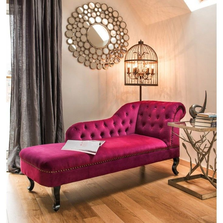 Celebrities Furniture Chaise Lounges In Retro Purple Design For The Home Buy Now At Out Cool Retro Onlin Vintage Bedroom Furniture Home Decor Furniture Design