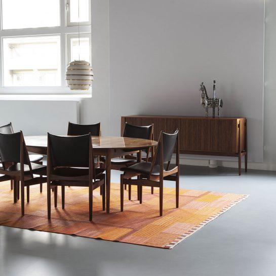 Finn Juhl Egyptian Chairs Dansk Mobelkunst Scandinavian Design In 2020 Scandinavian Design Finn Juhl Design