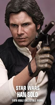 Star Wars: Episode IV A New Hope - Han Solo 1/6th scale Collectible Figure