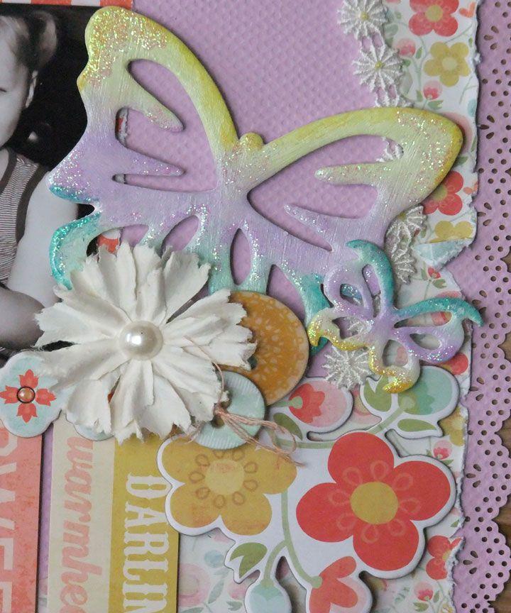 altering chipboard  card embellishments cards handmade