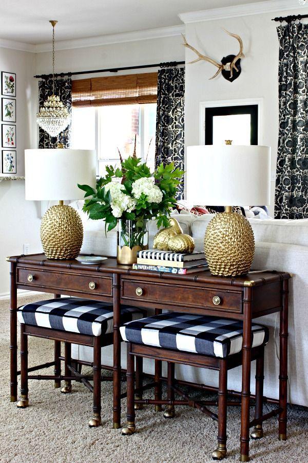 2016 Fall Home Tour Part 2 Blogger Stylin Home Tours Decor Room Decor Home