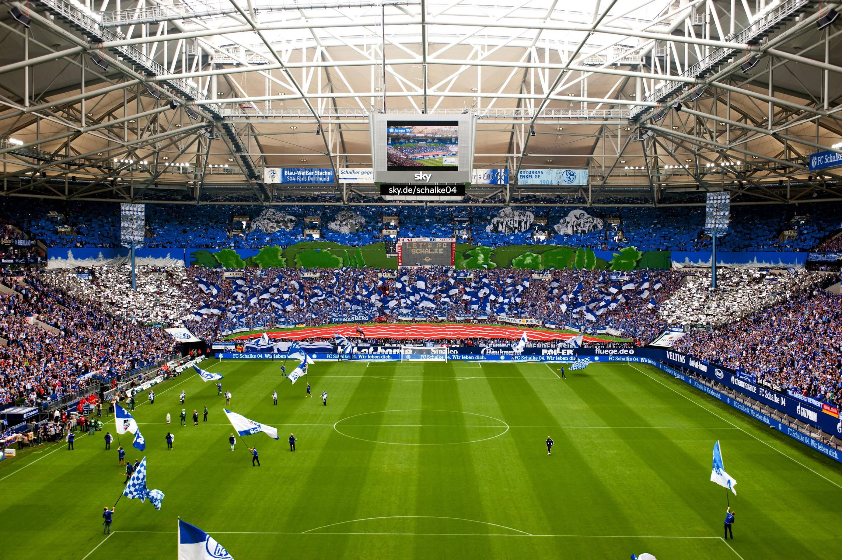 schalke stadion gelsenkirchen 9ine schalke04 pinterest. Black Bedroom Furniture Sets. Home Design Ideas