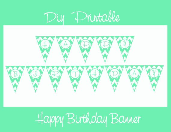 INSTANT DOWNLOAD....DIY Printable Mint Green by VampCandyDesigns, $6.00