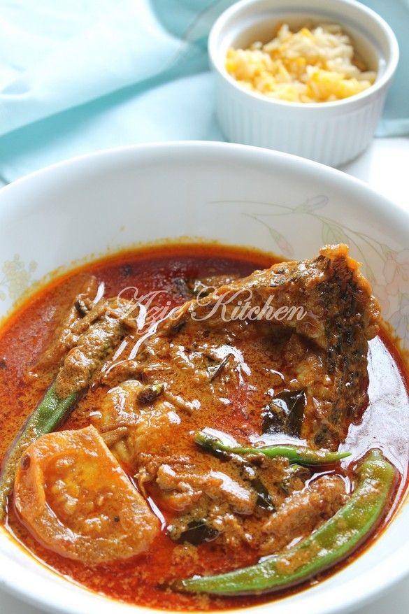 Azie Kitchen Kari Ikan Jenahak Yang Sedap Resep Masakan Malaysia Makanan Resep Sederhana