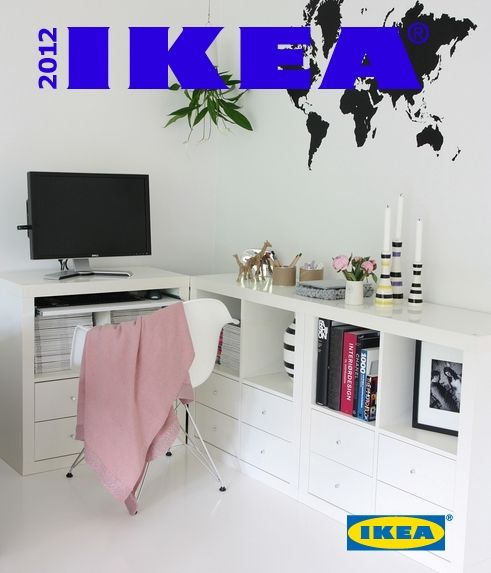 Ikea hack estanter a expedit 2x2 como mesa de ordenador for Mesas para ordenador ikea