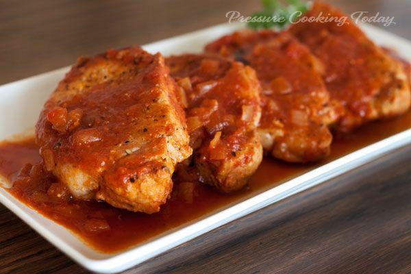 pork loin chop recipe pressure cooker Pork Chops in the Pressure Cooker  Pressure cooker pork, Pressure