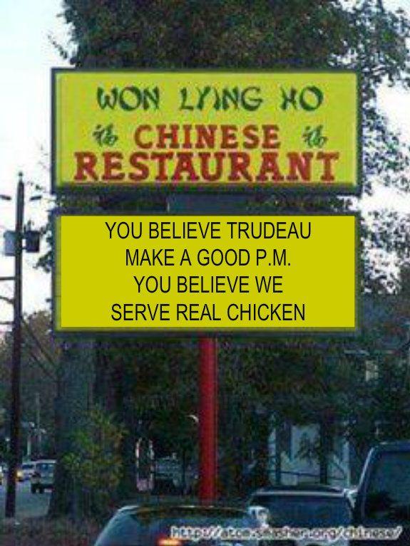Won Lying Ho on Trudeau #canpoli