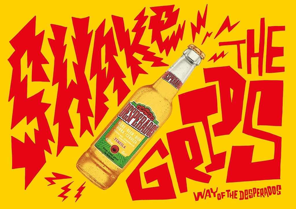 Desperados Way Of The Desperados 5 Beer Advertising Beer Design Desperado Beer