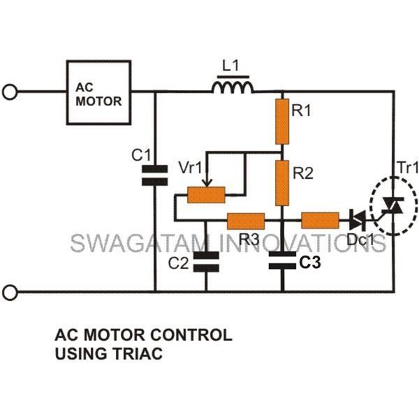 Simple Triac Dimmer Switch Circuit | TRIAC | Pinterest | Circuits