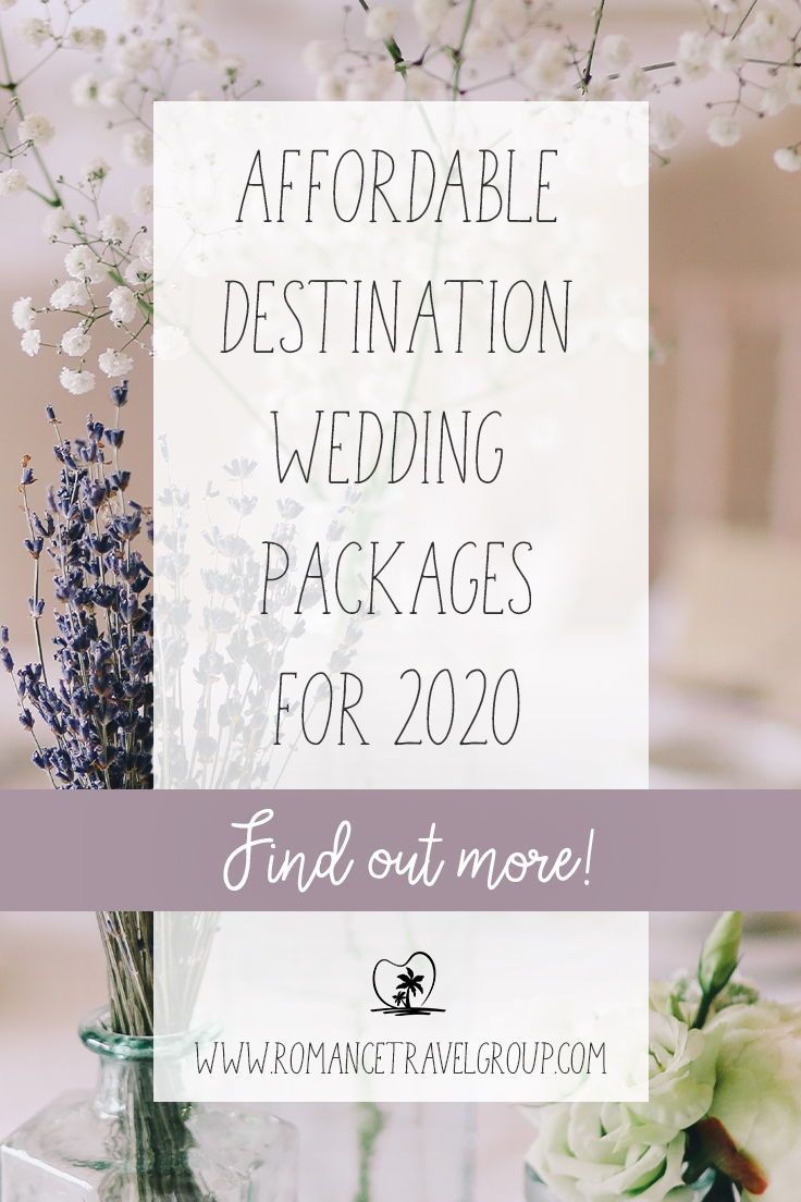 Photo of Affordable Destination Wedding Packages in 2020