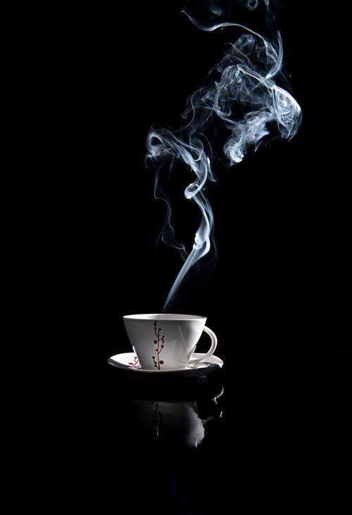 Cup Smoke And Steam Image Karya Seni Kopi Objek Gambar Kutipan Kopi