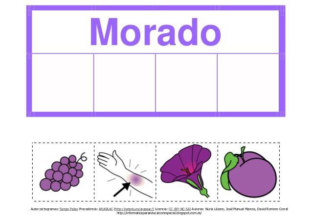 Los colores (en formato pdf). | colores | Pinterest | Principal ...
