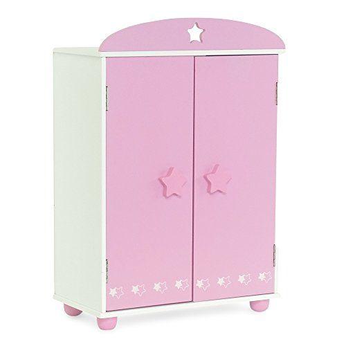Emily Rose 18 Inch Doll Furniture for American Girl DollsDoll Closet Armoi...