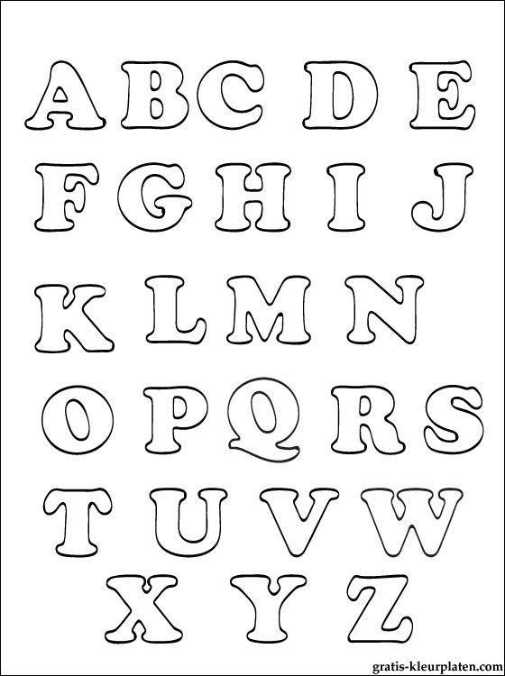 alfabet kleurplaten gratis kleurplaten kleurplaten