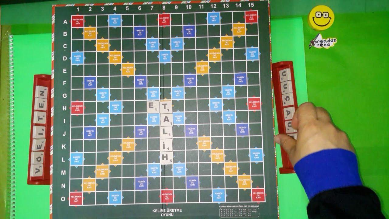 Kelime türetme oyunu nasıl oynanır   Scrabble nasıl oynanır   Magic words  oyunu   Türkçe - YouTube, 2020   Scrabble, Oyun, Oyunlar