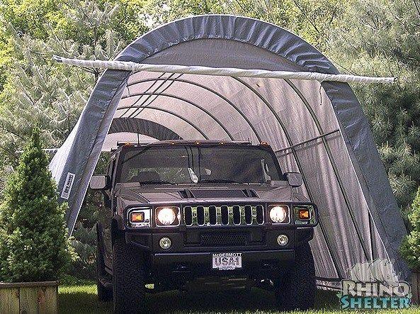Rhino Shelter 14x24x10 Portable Garage | Portable garage ...