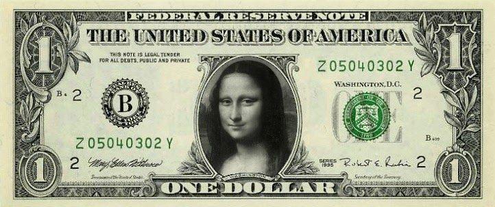 Money . inserire un immagine in una banconota