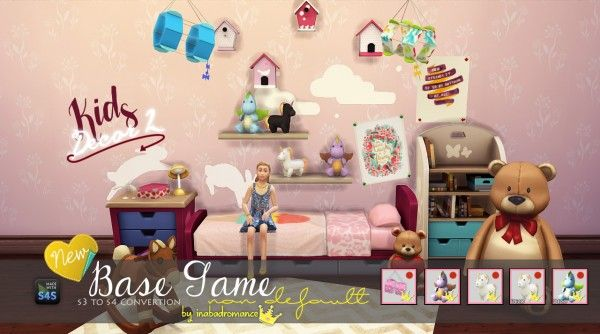 In a bad romance: Kids decor 2 - toys • Sims 4 Downloads