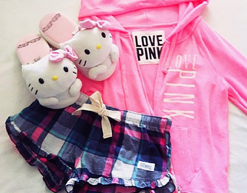 Totally getting this Victoria s Secret PINK PJ set for Caitlyn ... dbd336a317