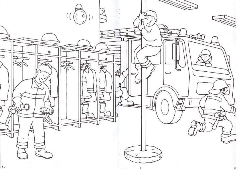 Playmobil Feuerwehr Malvorlage - tiffanylovesbooks