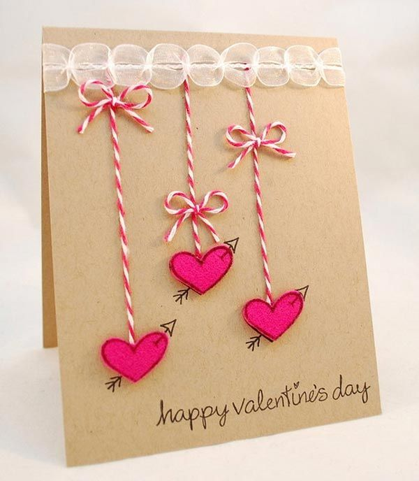 Creative diy valentne card ideas 2017 for more ideas visit for Valentine day card ideas
