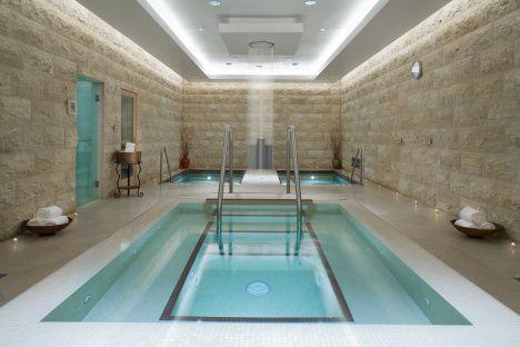 Before The Big Plunge Soak Up Pure Heaven At Qua Baths Spa