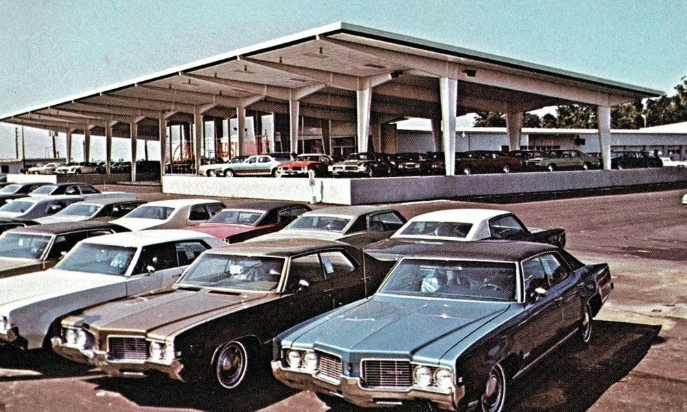 1970's Collins Oldsmobile Dealership, Indianapolis