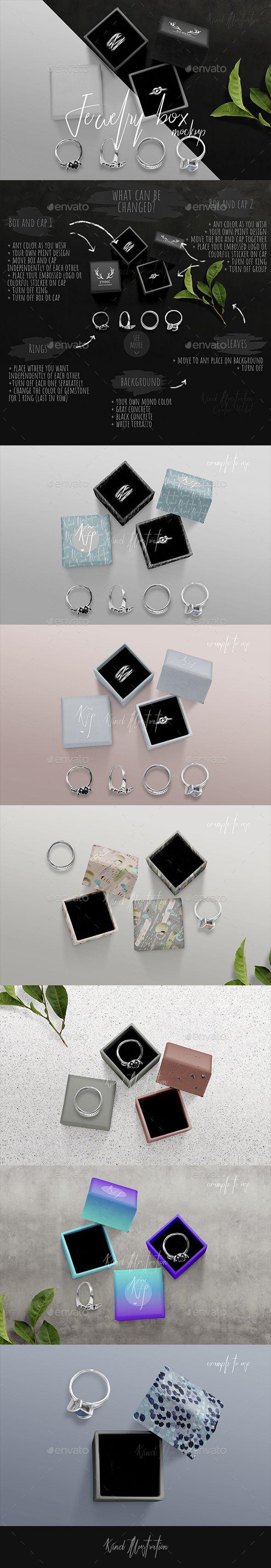 Download Jewelry Boxes Mockup Box Mockup Mockup Packaging Mockup