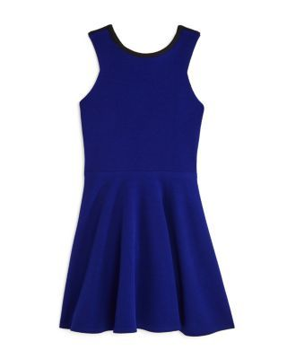 Sally Miller Girls' Carly Color-Block Cutout Dress - Big Kid - Sapphire #sallymiller