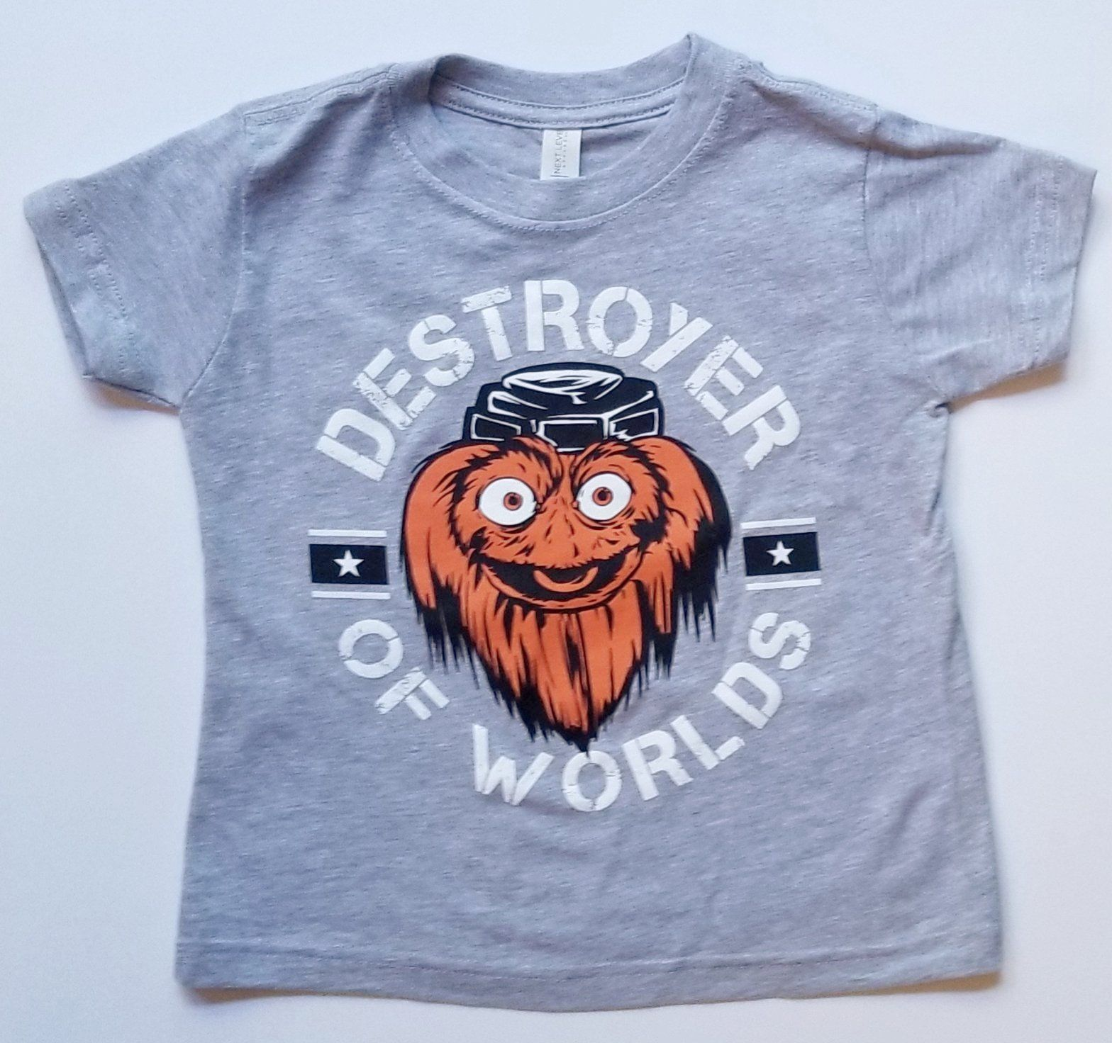 8aede3655 Gritty Destroyer Of Worlds Kids Grey tee shirt in 2019 ...