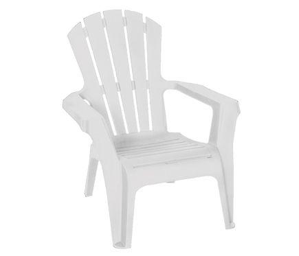 sillas blancas resina decorada