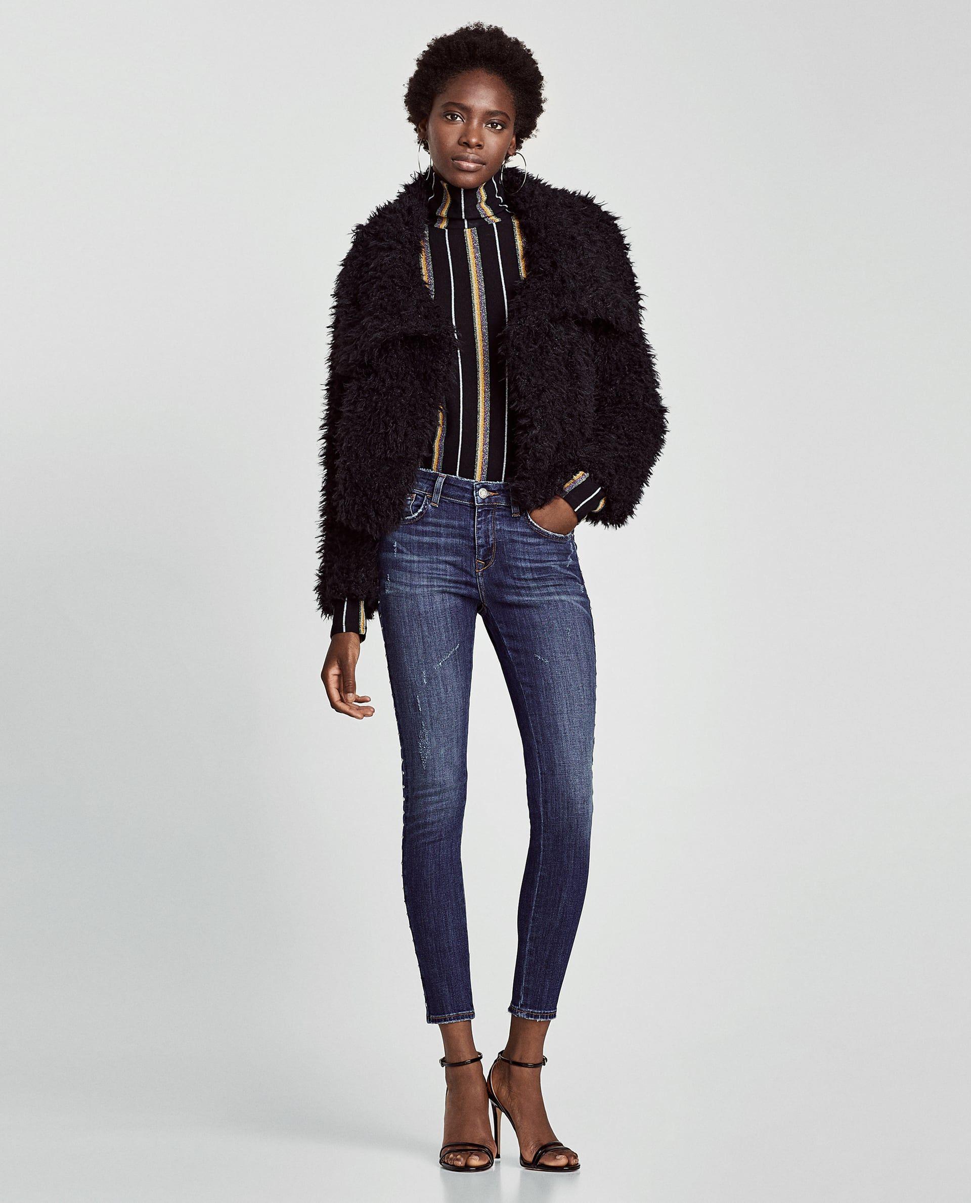 1a81486911 JEANS Z1975 BANDA LATERAL TACHAS | kLaMoTTeN | Damen jeans, Zara ...