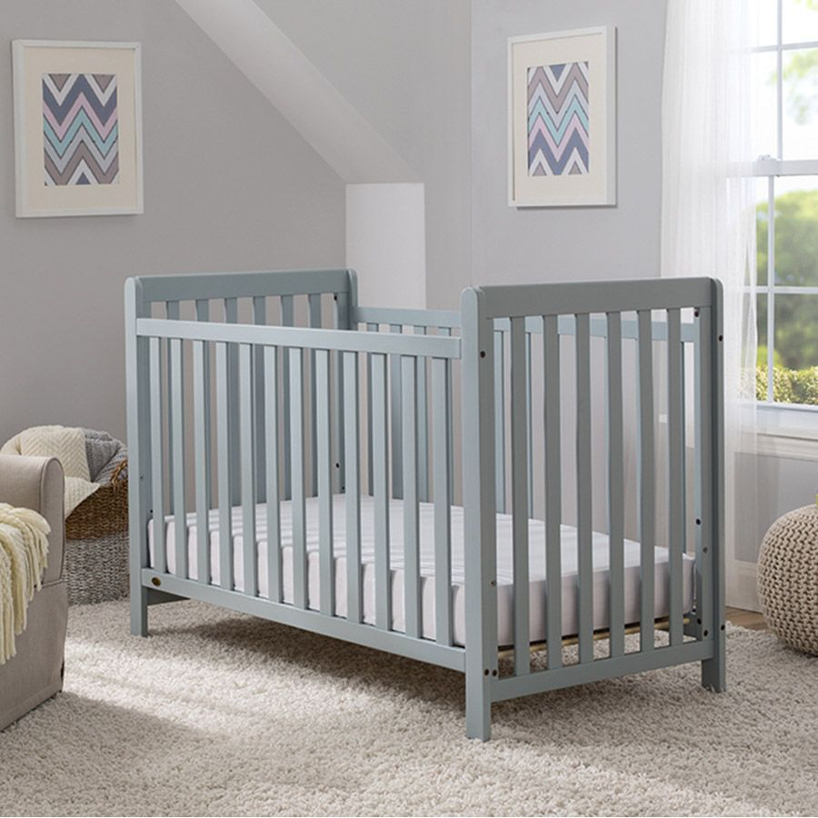 Delta Wave Cot - Pale Grey | Toys R Us Australia Official Site & Delta Wave Cot - Pale Grey | Toys