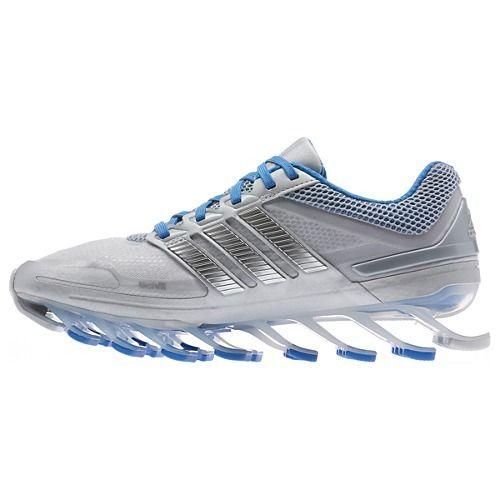 Adidas Springblade Women s Running Shoes Silver Blue Lançamento ... 46bd682c91