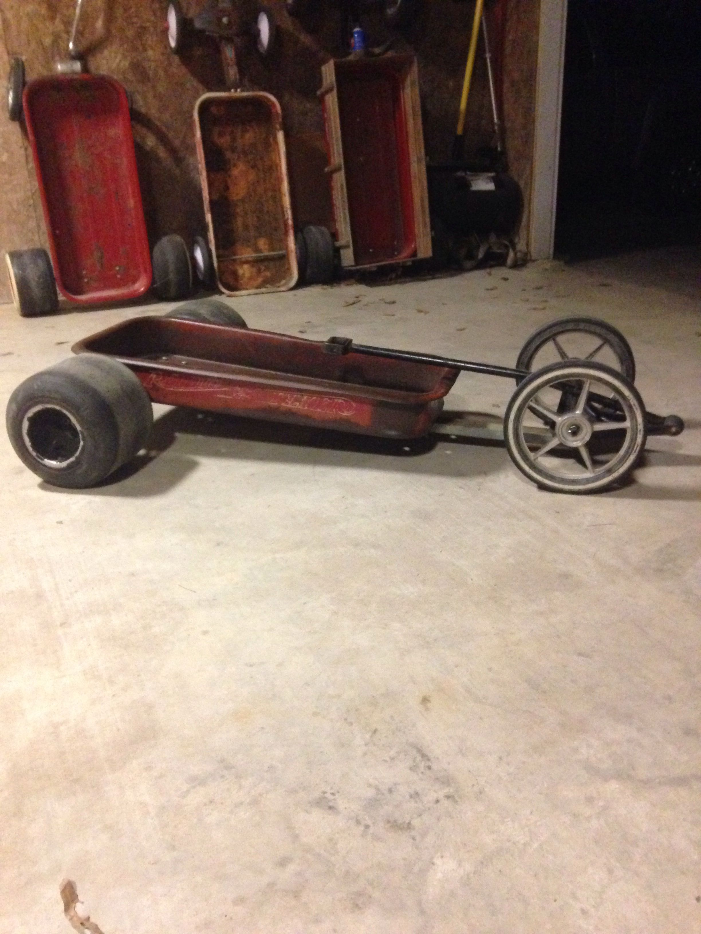 Dragster Wagon Cool Custom Wagons Custom Radio Flyer