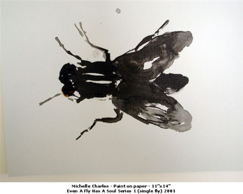 poboh:Even a Fly Has a Soul Series 1, 2003, Michelle Charles.