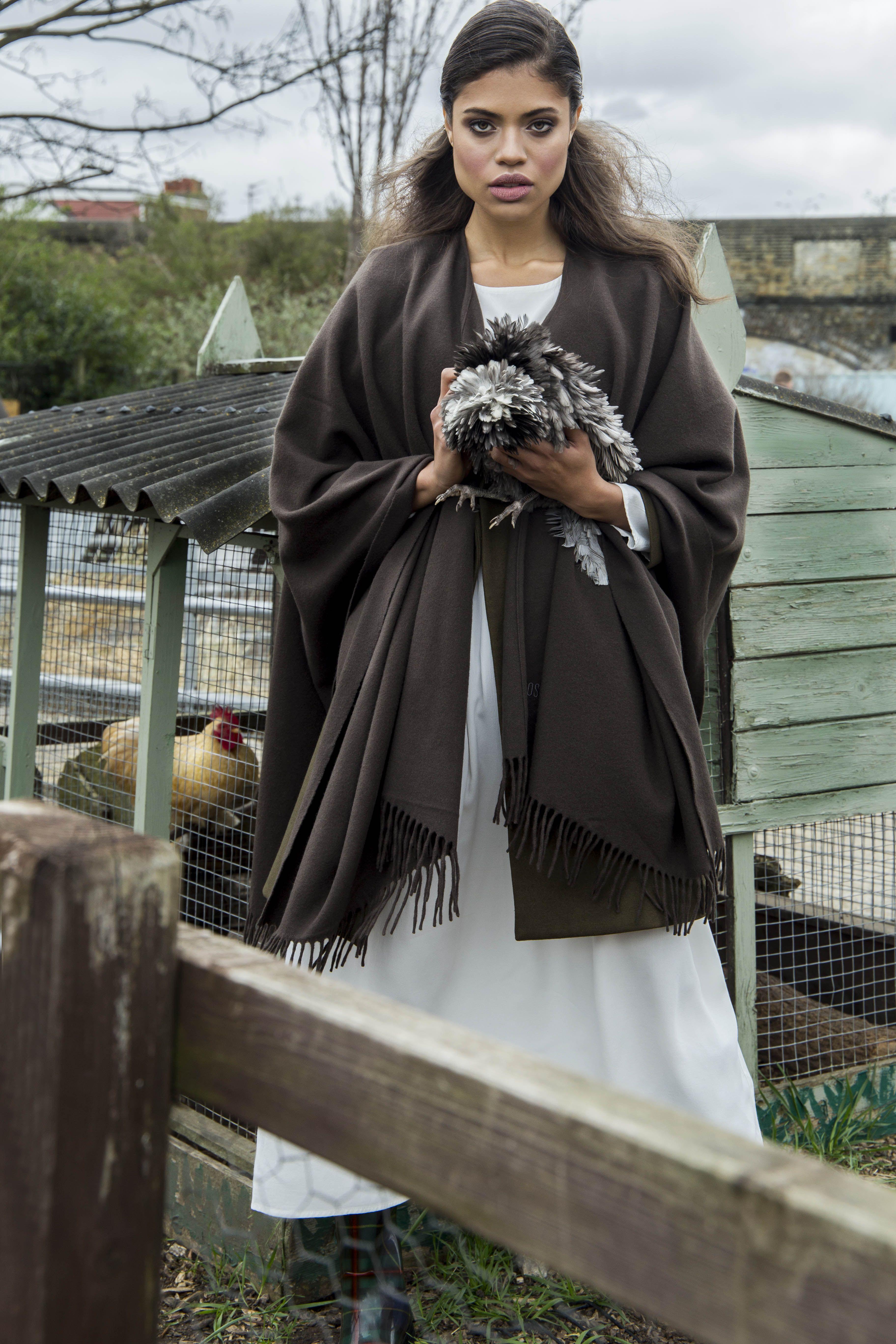 women's apparel , photography, countryside girl, country girl, country editorial, fashion , photography , chicken
