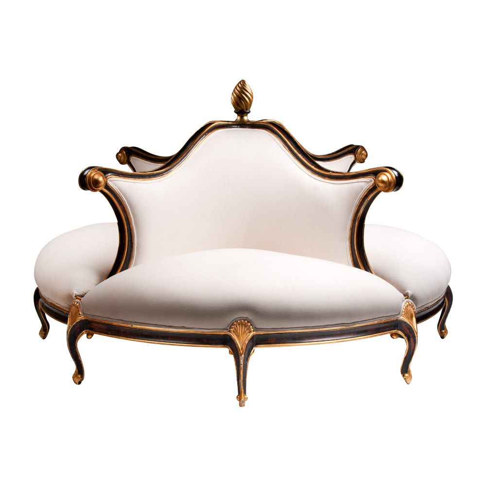 Contemporary Christopher Guy Four Seat Belle Epoch Style Confidante Found On Rubylane