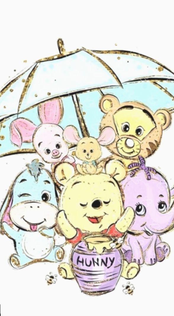 21 Wallpaper Ipad Disney Winnie The Pooh In 2020 Cute Disney Drawings Disney Drawings Cute Winnie The Pooh